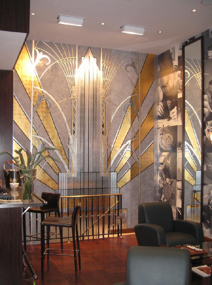 Richard smith studios - Deco tableau mural ...